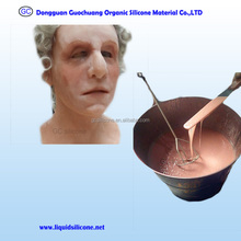 dragon skin equal life casting liquid silicone rubber for female mask making