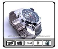 1080P HD Waterproof Watch DVR with Compass
