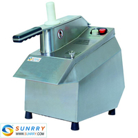 Fruit and vegetable cutting machine 120Kg/h machine for cutting fruit with 6 blades fruit and vegetable for CE (SY-MFC23 SUNRRY)