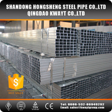 Average Galvanized Square Steel Tube