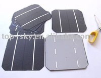 most popular 156x156mm mono-crystalline solar cell high efficiency cheap solar cell 4w