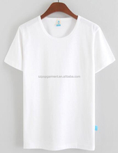 High Quality Wholesale Promotion White T shirt Cheap Plain T shirt in Bulk