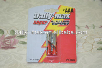 AAA Super Alkaline Battery