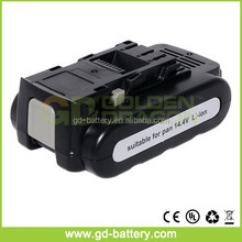 Cordless tool battery for 14.4V Panasonic Li-ion battery, For 14.4V Panasonic EY9L40 battery