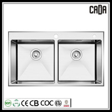 cadia wholesale 304 stainless steel kitchen hand wash basin