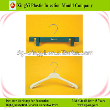 wet clothes hanger molding/injection molding/plastic tools