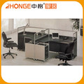 Lay Out Design 2 Person Furniture Workstation For Small Office
