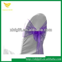 Various colors chair sash for banquet chair decoration