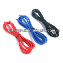 12AWG Silver Silicone Wire