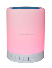 in hot selling,with lights,cylinder shape, 2.1 cheap 2016 bluetooth speaker