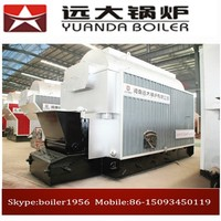 Automatic coal/Solid fuel fired hot water boiler price