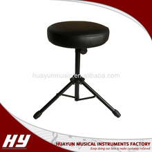 Professional round folding stool / adjustable piano stool