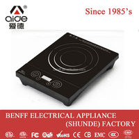 Button control high quality new design induction cooker manufacturer
