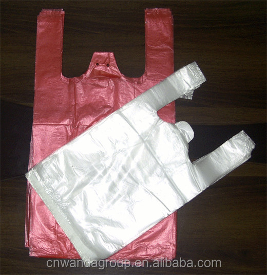 promotional plastic carrier/singlet/shopping/supermarket/t-shirt bag with high quality and competitive price