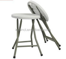 plastic stacking stools padded folding stool cushion round stool
