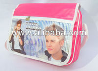JUSTIN BIEBER Shoulder Messenger Gym Sport School College Bag a12