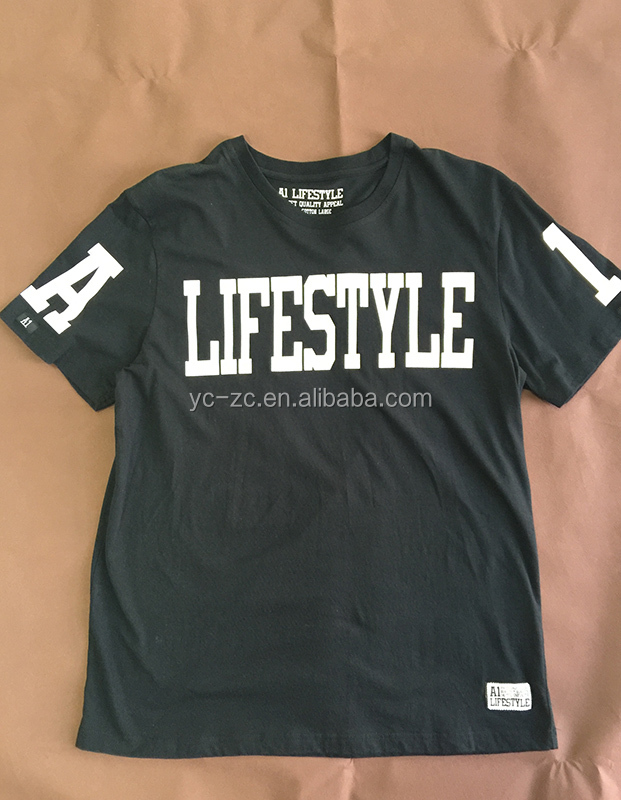 custom excellent quality creatively designed peinting super soft t shirt iron on letters