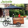 Creative multifunction coffee bike trailers new coffee tricycle electric cargo bike