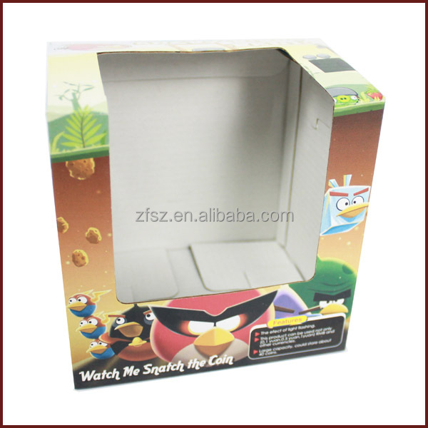 paper box for Christmas gift coin collector paper packaging