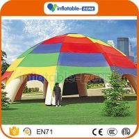 New design inflatable tent clear car camping tents car garage inflatabale tent factory