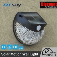 Outdoor popular garden decorate solar powered outdoor wall light
