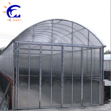 Hangmei large size commercial tunnel greenhouse with pe film cover for sale