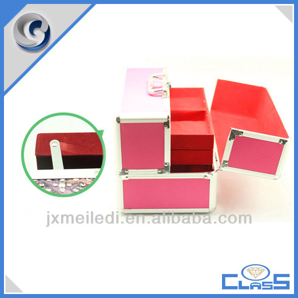 Hair Stylist Beauty Cases Extension Nail Beauty Storage Case Jewelry Box MLD-AC2357