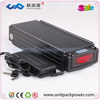 Hotest 48V 20Ah lifepo4 battery for electric bike battery 48v 1000w bike with 2A charger