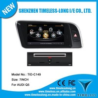 S100 Car DVD Player For Audi A4L 2007-2012 with GPS A8 Chipset 3 zone POP 3G/wifi BT 20 dics playing