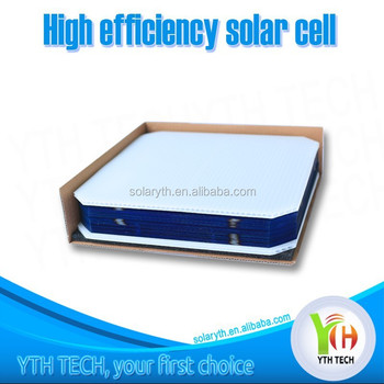 156*156mm Mono Silicon High Efficiency Solar Cell For Sale Up To 19.4% Power 4.64W