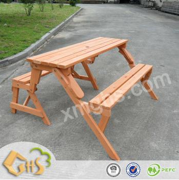 Banc de jardin 2 en 1 table chambre suite en bois banquette bac de jardin 41005 table pliante id - Table jardin banc nancy ...