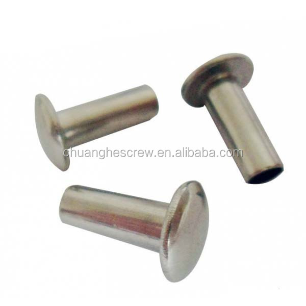 Alibaba China Fastener carbon steel button head rivet