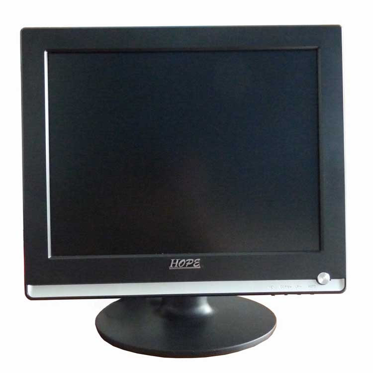 2017 new products 15 inch used displays 1024*768 resolution lcd monitor