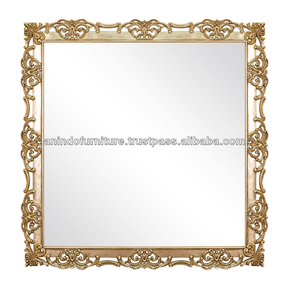 Joacquine Wooden Carved Decorative Mirror