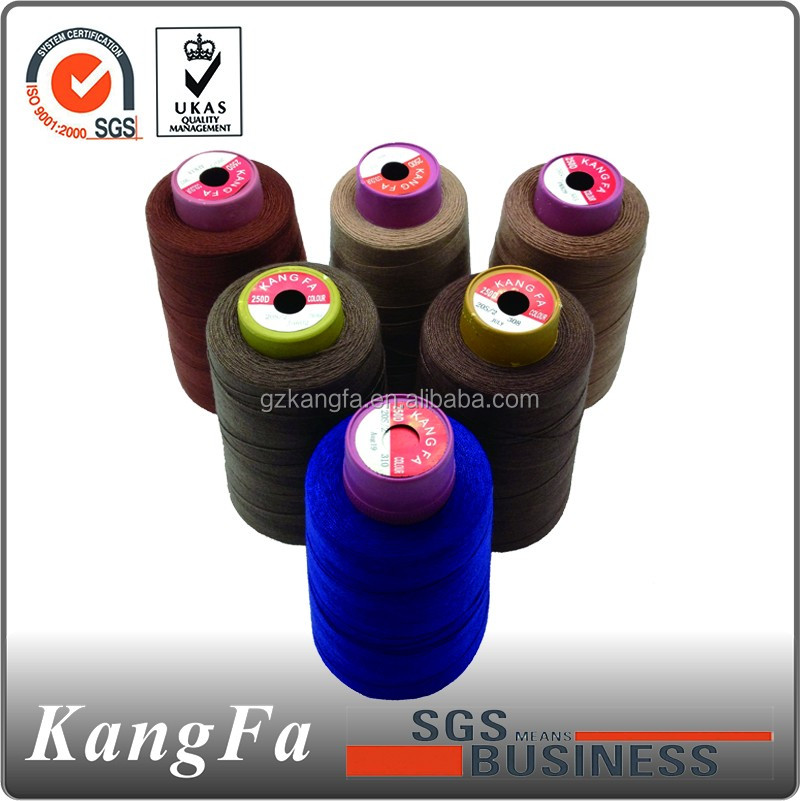 Kangfa 100 spun polyester sewing thread