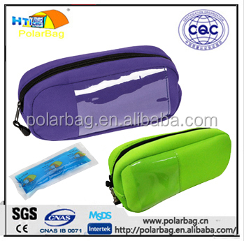 Cheap Diabetes insulin pen traveling cooler bag with ice cool gel pack