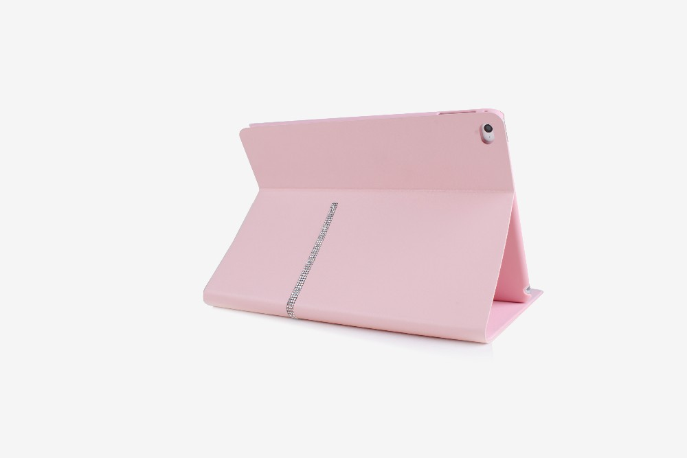 Diamond PU Leather Stand Case Cover For Ipad air 2