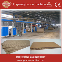 New design of High speed Automatic 3/5 layer corrugated cardboard production line