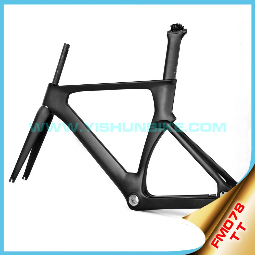 High end!! 700c bicycle toray carbon frames Track carbon race frames BSA/BB30 carbon frames chinese FM078