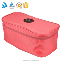 Lingerie protective garment packaging travel bra bag wholesale