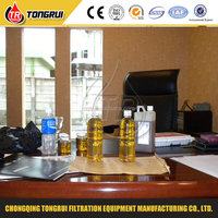 used motor oil re-refining machine to base oil, re refining used oil