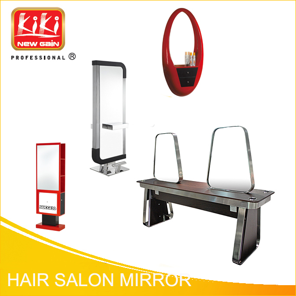 Beauty salon equipment. Hairdressing styling mirrors. Single side mirror. Hair Salon Mirrors