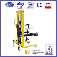 Big Promotion manual forklift manual hydraulic pallet stacker drum lifter
