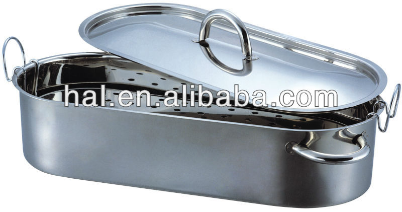 Happy Living Stainless Steel Fish Poacher cookware kitchenware