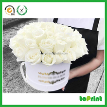 Wholesale to make cute gift packaging box for Valentine flower