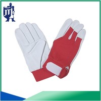 pig grain leather workout gloves
