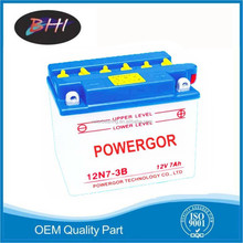 Factory direct 12v 8ah motorcycle battery