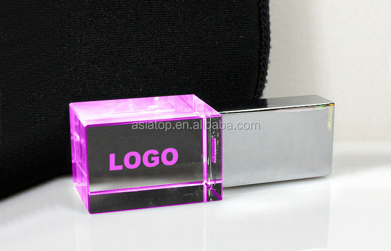 2gb customed crystal usb flash drive 4gb hotselling crystal usb flash disk 8gb popular crystal usb flash memory