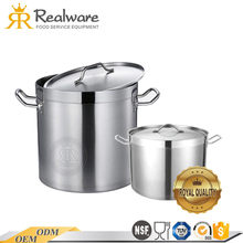 Realware cookware cooking large commercial induction enamel soup stock pot