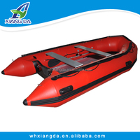 Challenger pvc fabric inflatable foot pedal boat